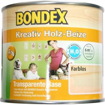 BONDEX Kreativ Holz-Beize Farblos 0,5L