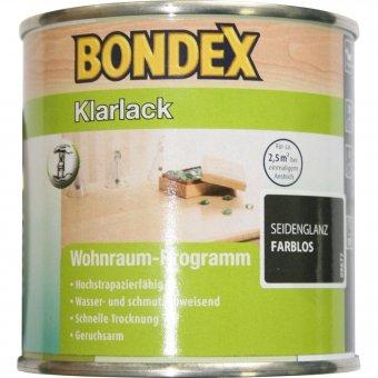 BONDEX Klarlack Seidenglanz Farblos 0,25L