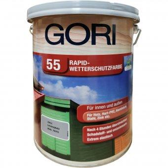 GORI Rapid Wetterschutzfarbe 55 Lichtgrau 2052 5L