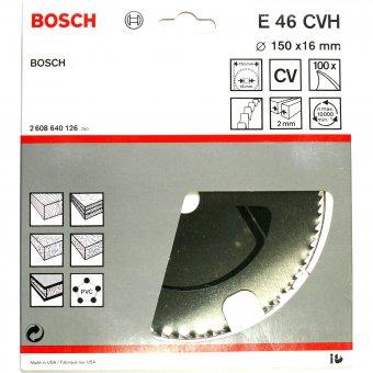 Bosch Sägeblatt E46 CVH 150 x 16 mm (100 Zähne)