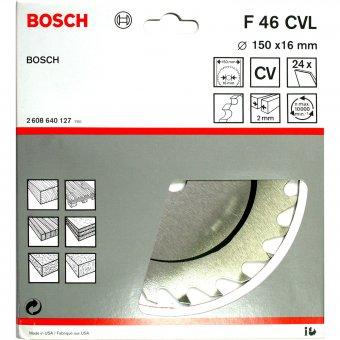 Bosch Sägeblatt F46 CVL 150 x 16 mm (24 Zähne)