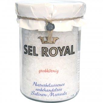 Naturbelassenes unbehandeltes Salinen-Meersalz (grobkörnig) 400g